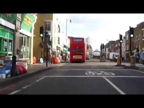 Cycling in London : Kingsland Road 566 _ 520_ Hackney Road till 264