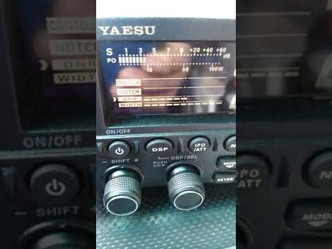 Static level in my radio at times it's 9 dB grounding issue for the antenna