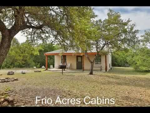 Frio Acres Cabins And Lodging In Concan, TX On The Frio