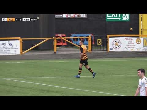 Alloa Ayr Utd Goals And Highlights