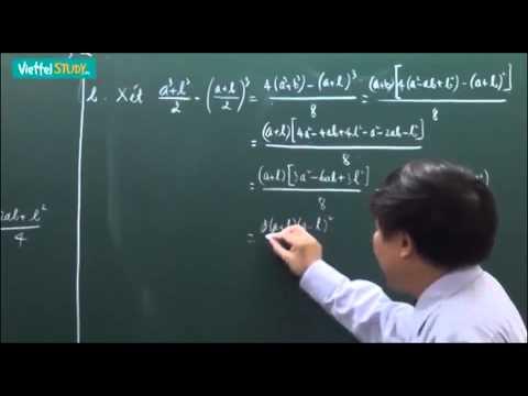Ôn thi tuyển lớp 10 toán bất đẳng thức - cực trị Bài 02 Bài tập sử dụng bất đẳng thức cơ bản Tiết 2