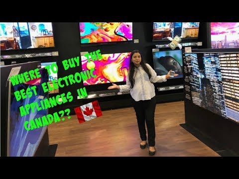 Where To Find Affordable Electronics In Canada   Canada Couple  Moving Vlog 5