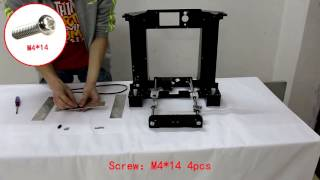 a6 assembly 3d printer assemble