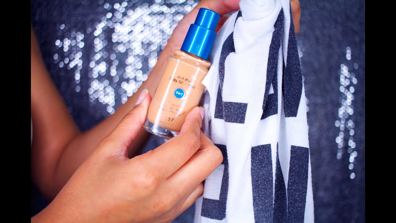How To Remove Foundation From Clothes Quickly Huffpost Uk