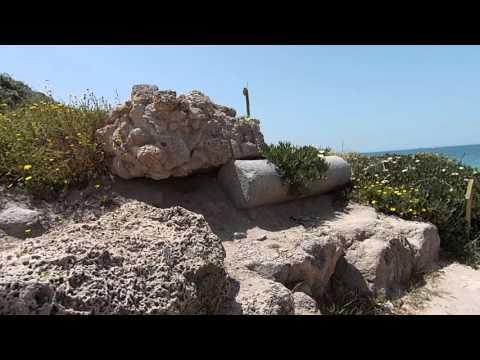 Ашкелон. Национальный парк и Средиземное МОРЕ 16 апреля 2016 года. Ashkelon National Park and See.