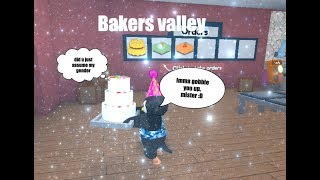 Roblox ~ Bakers Valley Gameplay | Easy peasy vanilla icing squeezy