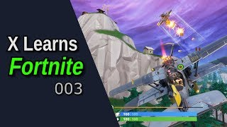 X Takes to the Skies - X Learns Fortnite 003