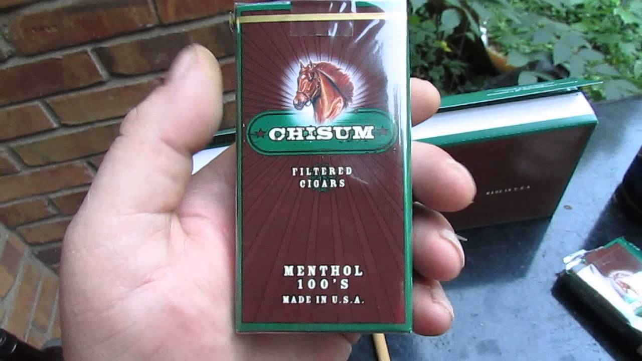 Types of Glasgow classic cigarettes