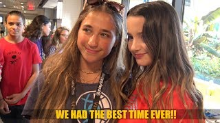 Playlist Live 2018 - Meeting Annie Leblanc (Bratayley) and More Fans!
