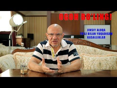 #48 DOKTOR-D : JINSIY ALOQA YO'LI BILAN YUQADIGAN KASALLIKLAR