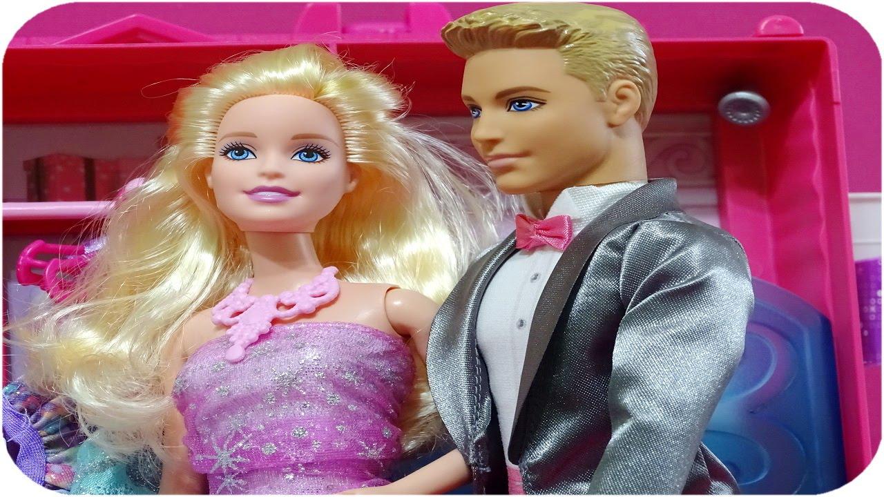 Barbie Ve Ken Balayında Barbie Oyuncak Videoları