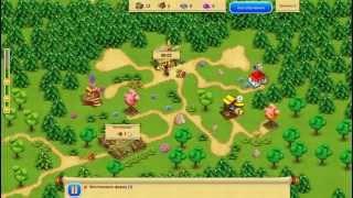 Gnomes Garden 2 / Сад Гномов 2 (Gameplay)