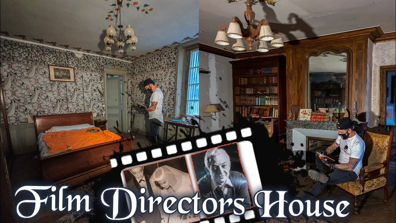 ABANDONED MILLIONAIRE  MOVIE MANSION  Film Directors HOUSE 'true lies'