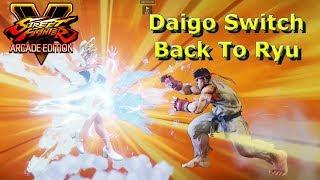 SFV AE - Daigo Switch Back To Ryu Some online footage of Daigo's Ry...