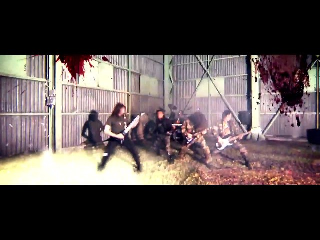 ANGUISH FORCE - Created 4 self-destruction (OFFICIAL VIDEO)