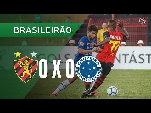 SPORT 0 X 0 CRUZEIRO - MELHORES MOMENTOS - 08/09 - BRASILEIRÃO 2018