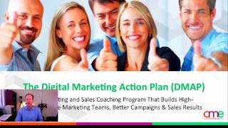 Session 4: The CME Sales & Digital Marketing Action Plan (DMAP) Training