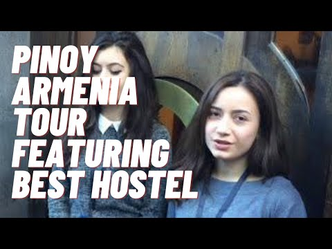 PINOY ARMENIA TOUR (featuring BEST HOSTEL) Video 13