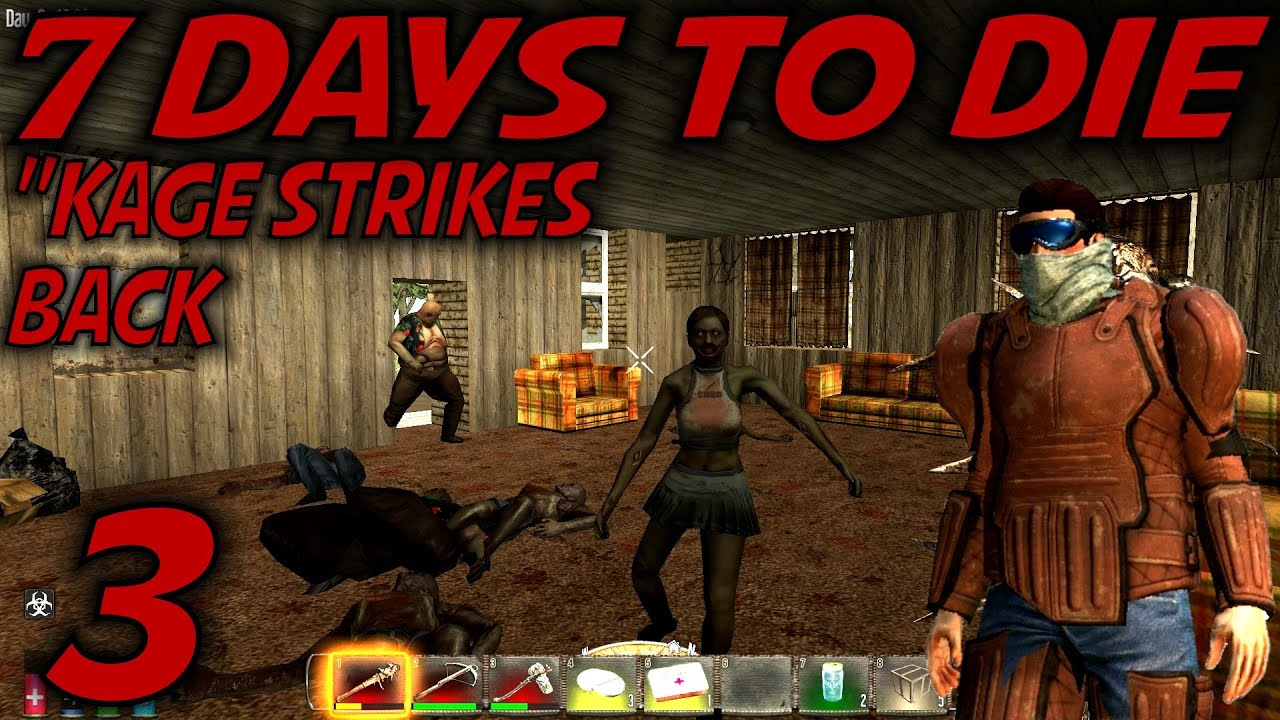 7 days to die alpha 10 4 gameplay let 39 s play s 10 5 e03 kage strikes back youtube. Black Bedroom Furniture Sets. Home Design Ideas