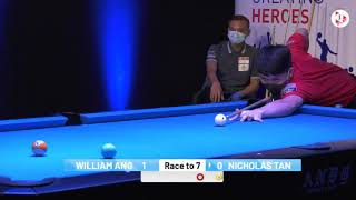 1 Play Cuesports Singapore 9 Ball Invitational Match Up 2020!