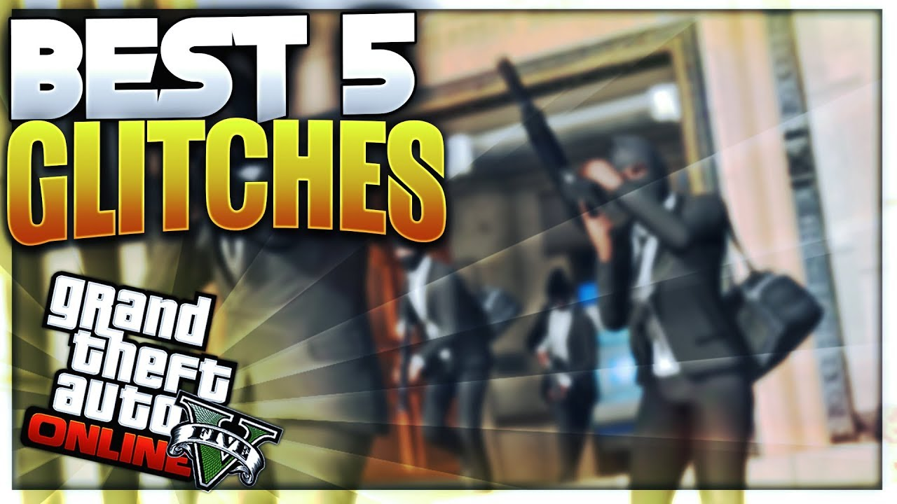 TOP 5 BEST GLITCH ! GTA 5 ONLINE 1.40 - YouTube
