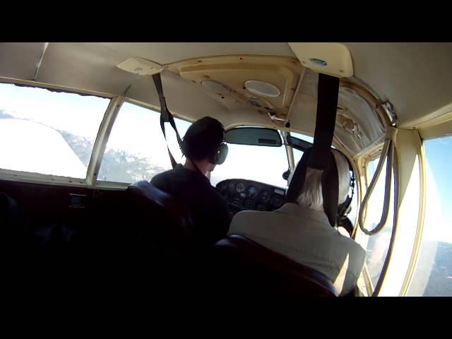 Morning Flight - CZBB to CYPS to Rowena - Part 1/2