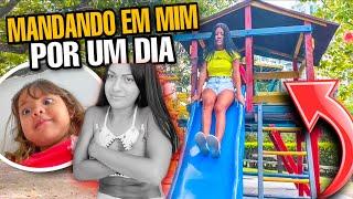 VALENTINA MANDANDO EM MIM POR UM DIA!! *PASSOU DOS LIMITES* 😱