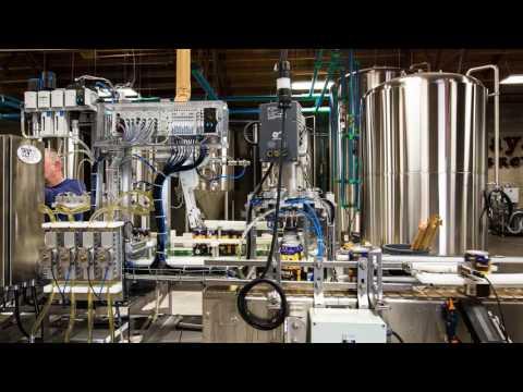 Tenaya Creek Brewery - Canning the 702 Pale Ale in Las Vegas