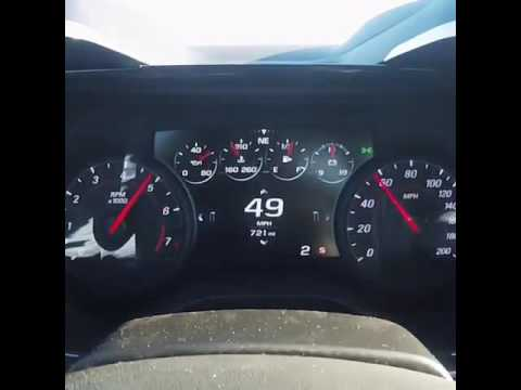2017 Camaro SS Top Speed Run - YouTube