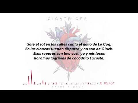 Natos Y Waor Balada Ft Charlie Letra Cicatrices