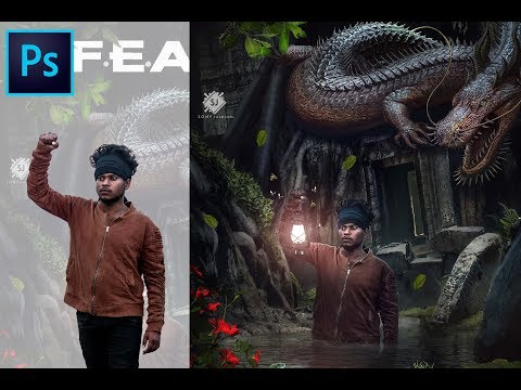Creative Poster | Photoshop Manipulation Tutorial 2019 | Sony Jackson thumbnail