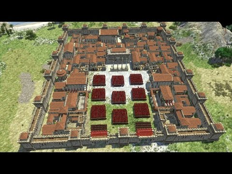 THE ROMAN FORTRESS - 0 A.D.