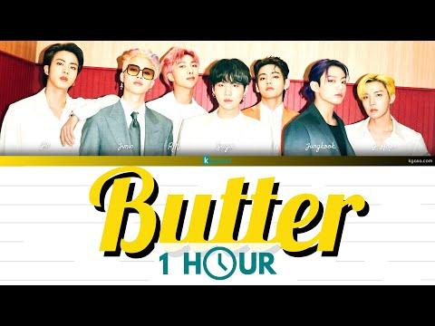 [1 HOUR LOOP] BTS (방탄소년단) - Butter Lyrics [English]