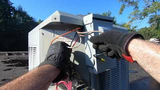 No AC Call Back Old Trane Another Company Sabotaged Pt 2