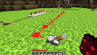 Repeat youtube video Minecraft Tutorial: Basic Redstone Circuits (Minecraftopia)