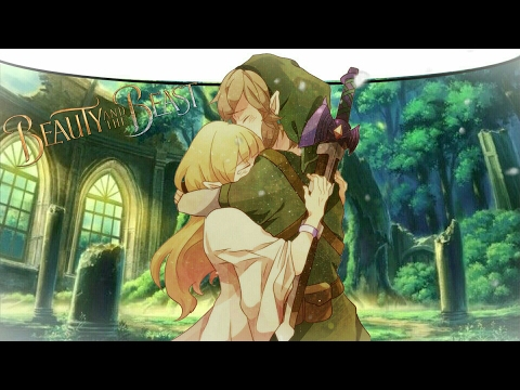 ♕Nightcore♕ ➜「Beauty and the Beast」(Switching Vocals)