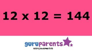 Times tables song 12