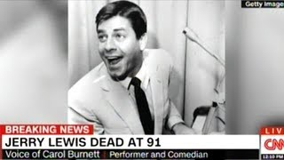 Carol Burnett Fondly Remembers Jerry Lewis