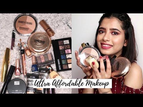 Ultra Affordable Makeup Haul India ₹120 To ₹500 | Anindita Chakravarty