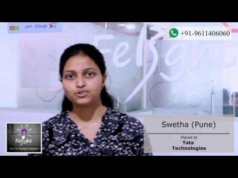 Swetha from Pune got placed in Tata Technologies