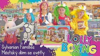 Lollyboxing 39 - Sylvanian Families - Městský dům se světly