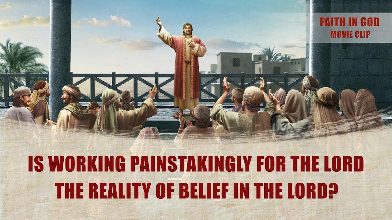 """Gospel Movie Extract 5 From """"Faith in God"""": Is Hard Work the Same as True Faith in God?"""