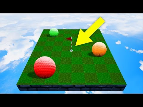 PLAYING ON A MINIATURE GOLF COURSE! (Golf It)