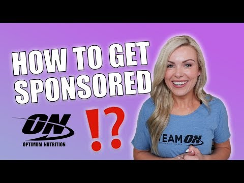 HOW TO GET SPONSORED | OPTIMUM NUTRITION ATHLETE