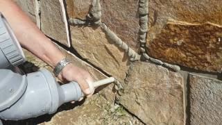 Škárovanie kamena