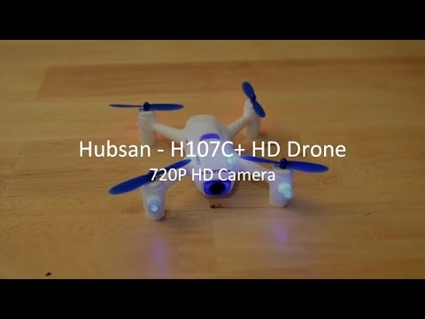 Hubsan H107C+ x4 Drone Quadcopter 720P HD Camera Review & Sample Footage - CA Reviews
