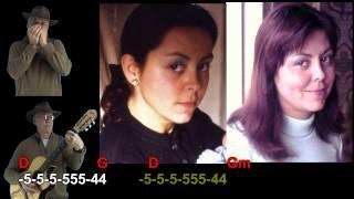 nº 285 Un mechon de tu cabello ( Salvatore Adamo ) tablatura armonica diatonica ( G ) +chords guitar