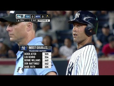 Jeter passes Gehrig on all-time doubles list