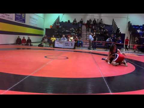 2014 Ontario Juvenile Championships: 52 kg Julia Lei vs. Sofia Liantzakis