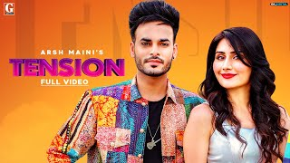 Tension (Arsh Maini, Afsana Khan) Mp3 Song Download
